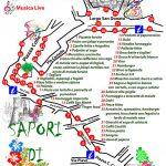 mappa dei Sapori di Primavera 2018 a San Donato Val di Comino