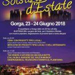 Festa del Solstizio d'Estate Gorga 2018