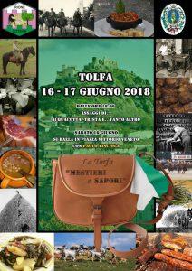 La Torfa mestieri e sapori Tolfa 2018