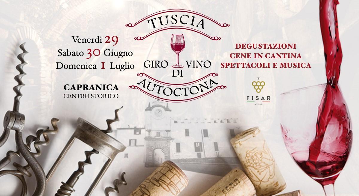 Tuscia Autoctona Giro di Vino Capranica 2018