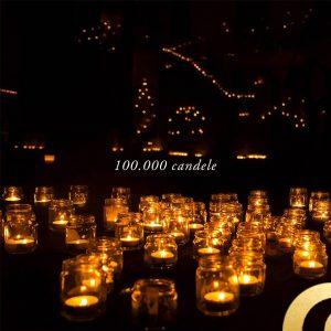 Vallerano illuminato da 100000 candele