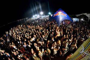 festa in spiaggia a Santa Severa durante il Surf Expo