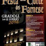 Festa alla Corte dei Farnese Gradoli 2018
