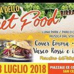 Festa dello street food San Cesareo 2018