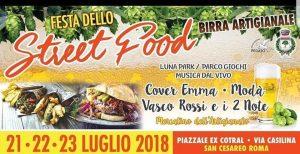 Festa della birra e street food San Cesareo 2018