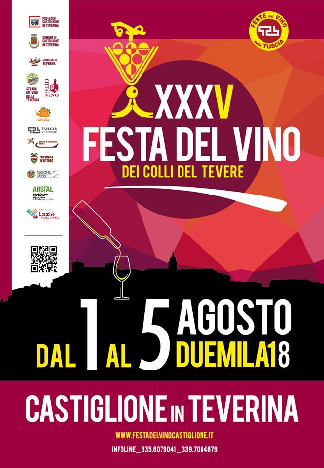 Festa del vino Castiglione in Teverina 2018