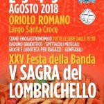 Sagra del lombrichello Oriolo Romano 2018