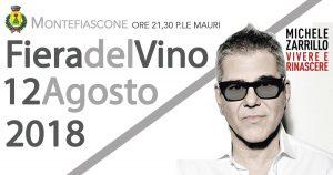 Programma della fiera del vino 2018: Michele Zarrillo