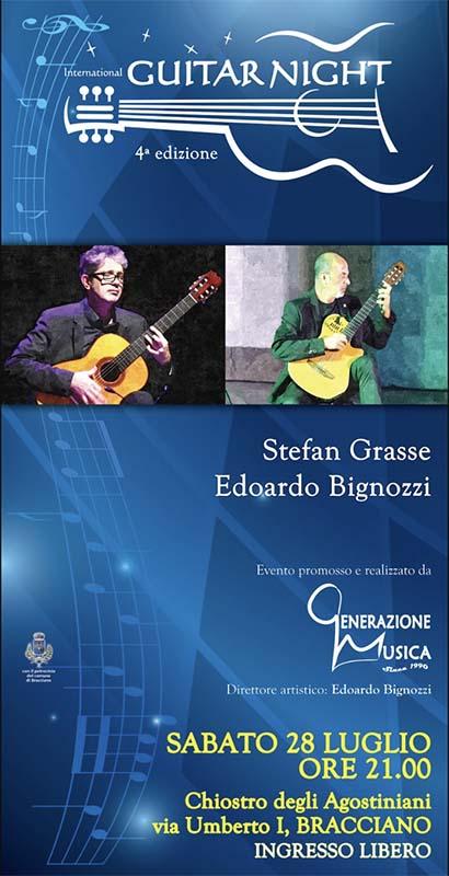 concerto per chitarra al chiostro degli Agostiniani a Bracciano