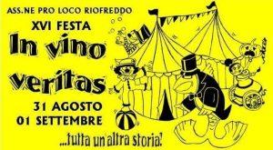 In Vino Veritas festa del vino Riofreddo 2018