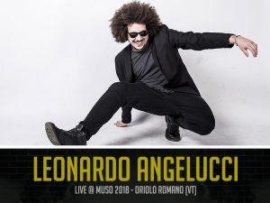 Leonardo Angelucci al Muso Festival 2018
