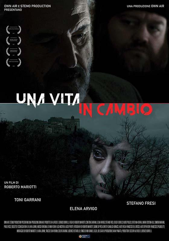 locandina del film Una vita in cambio di Roberto Mariotti