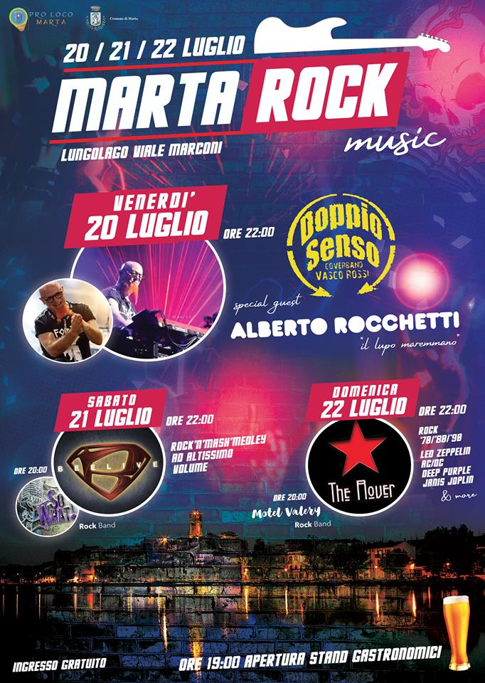 Programma di Marta Rock2018