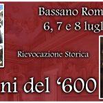 I Mercatini del '600 Bassano Romano 2018