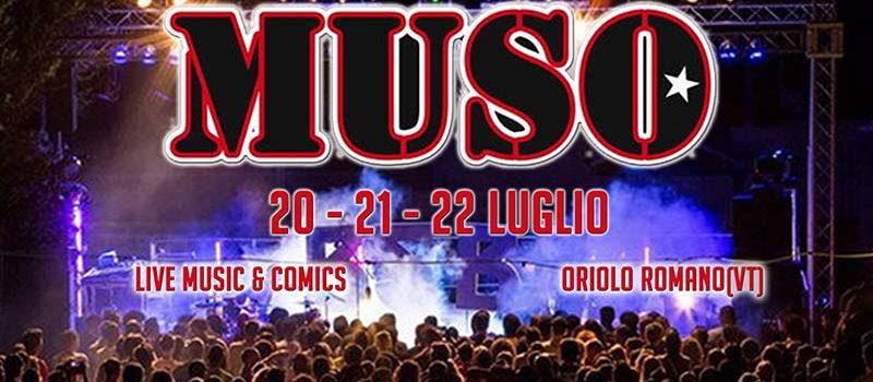 MUSO Festival 2018 Oriolo Romano (VT): PROGRAMMA