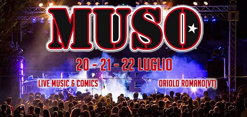 Muso festival 2018 Oriolo Romano