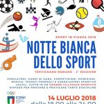 Notte bianca dello sport Trevignano Romano 2018