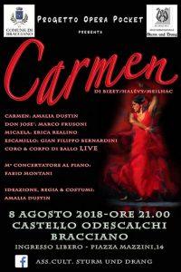 Carmen di Bizet al castello di Bracciano