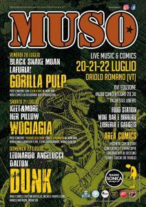 locandina del MUSO Festival Oriolo Romano 2018