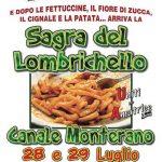 Sagra del lombrichello Canale Monterano 2018