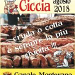 sagra della carne Canale Monterano 2018