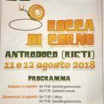 Sagra delle lumache Antrodoco 2018