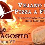 Festa della pizza a fiamma Vejano 2018