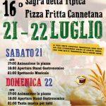 Sagra della pizza fritta a Canneto Sabino 2018