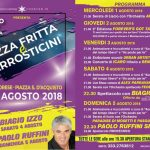 Sagra della pizza fritta e arrosticini Passo Corese (RI) 2018
