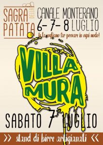 Villa Mura alla Sagra della patata di Canale 2018