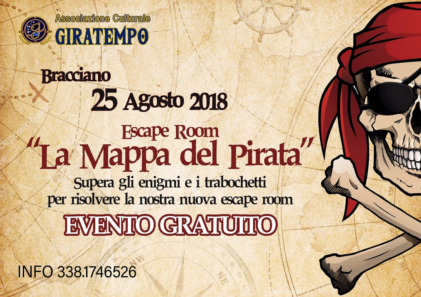 escape room al Middle Lake Festival con il Giratempo