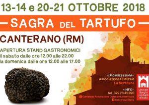 Sagra del tartufo Canterano (RM) 2018