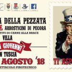 Sagra della pezzata e arrosticini di pecora Villa San Giovanni in Tuscia 2018