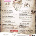 programma della sagra delle telline al borghetto dei pescatori di Ostia 2018