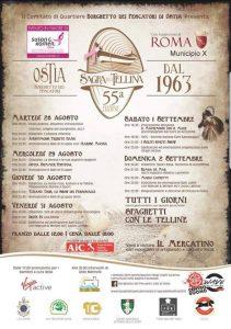 Sagra della tellina 2018 Ostia (Borghetto dei pescatori)