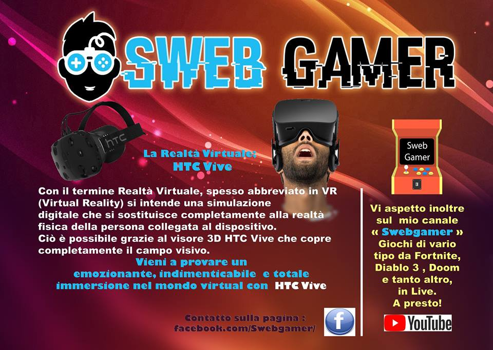 Sweb Gamer al Middle Lake Festival