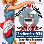 Tarano Love Vintage 2018: la notte del modernariato