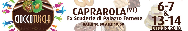 Cioccotuscia e Sagra della castagna Caprarola 2018