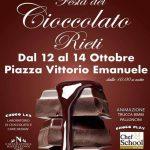 Festa della cioccolata Rieti 2018