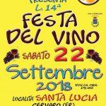 Sagra del vino Cervaro 2018