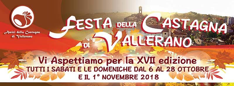 Festa della castagna Vallerano 2018