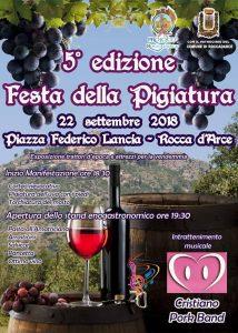 Festa della pigiatura 2018 Rocca d'Arce (FR)