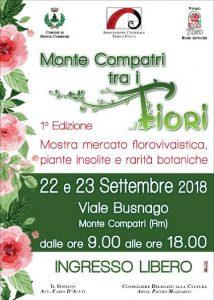 Monte Compatri tra i Fiori 2018