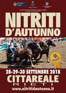 Nitriti d'autunno 2018: a Cittareale arriva la fiera del cavallo e del bestiame