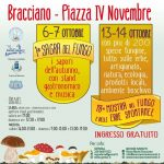 sagra dei funghi 2018 a Bracciano