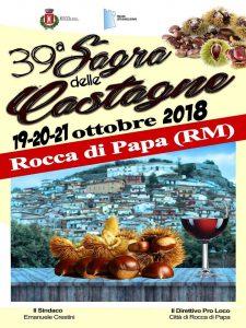 Sagra delle castagne Rocca di Papa 2018