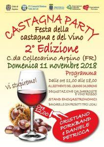 Festa della Castagna e del Vino 2018 Collecarino Arpino