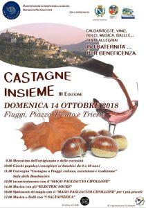 Festa delle castagne Fiuggi 2018