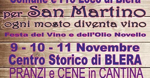 San Martino 2018 a Blera: la festa del vino e dell'olio