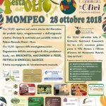 festa dell'olio d'oliva 2018 a Mompeo